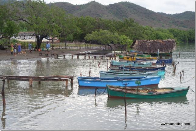 Port de pêche de Marea del Portillo