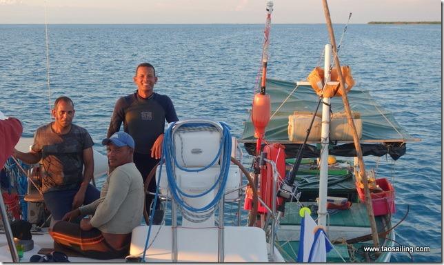 Tao acueille des pêcheurs de langoustes