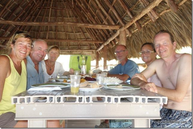 Retrouvailles avec Madgic sur Cayo Iguana