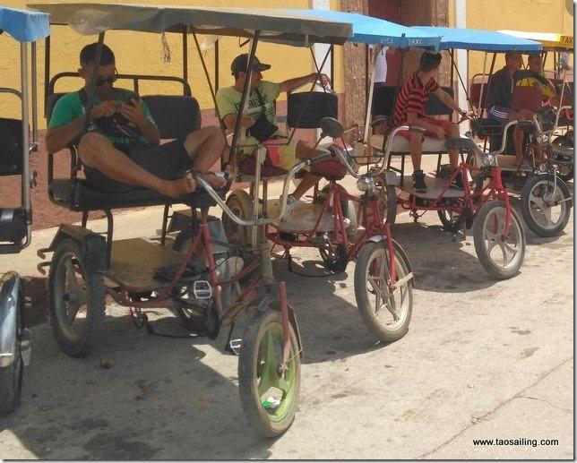 Trinidad un autre moyen de transport