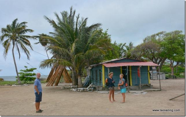 Cayo Cantiles - Cabane des pêcheurs