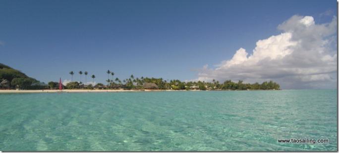 Bora Bora plage de Madira
