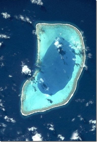 Beveridge Reef satellite